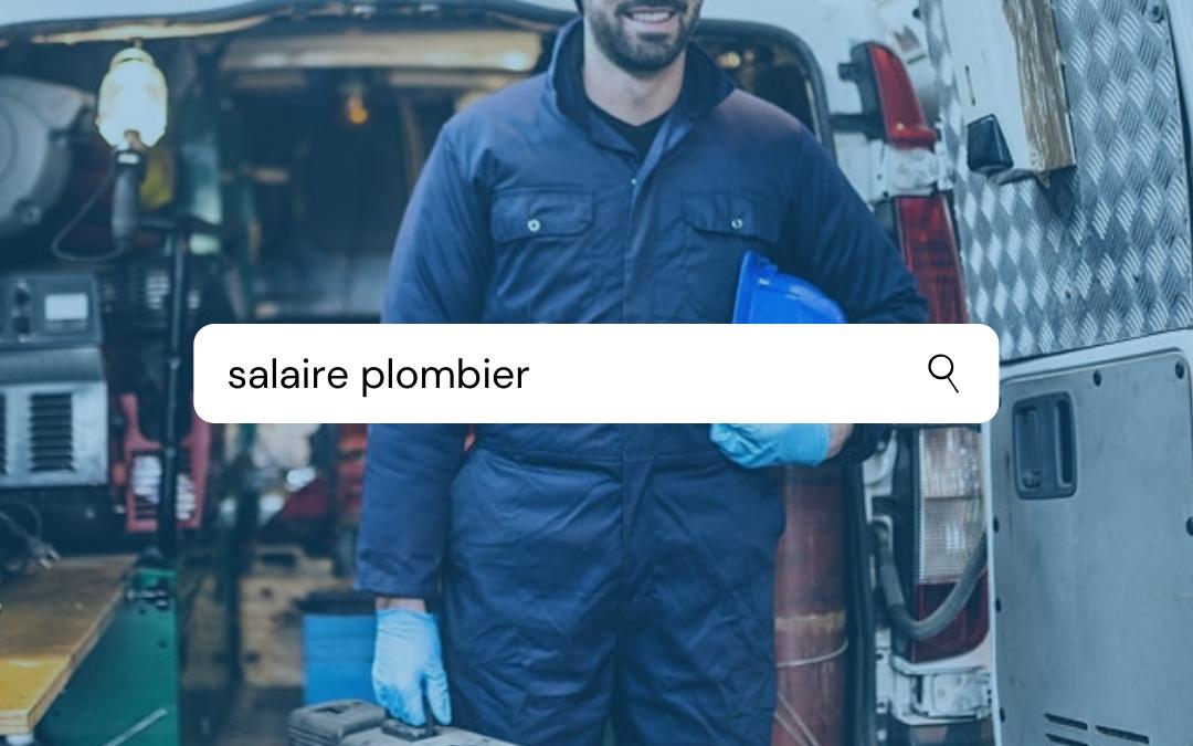 plombier salaire